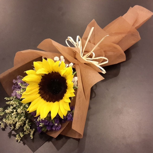 108 Florist Sunflower Bouquet 1 Stalk